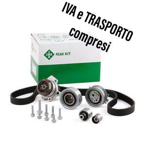 Kit distribuzione con pompa acqua Ina 530 055 032 Volkswagen Audi 1.6 2.0 TDI